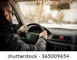 driving a car | Shutterstock . vector #365009654