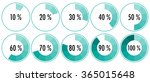 vector percentage indicators... | Shutterstock .eps vector #365015648