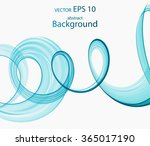 abstract colored spiral | Shutterstock .eps vector #365017190