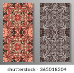 seamless abstract pattern  hand ... | Shutterstock .eps vector #365018204