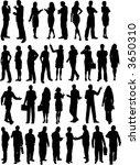 business people   vector | Shutterstock .eps vector #3650310