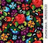 bright vector seamless pattern... | Shutterstock .eps vector #365033120