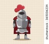 knight theme elements | Shutterstock .eps vector #365036234