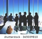 group of business people... | Shutterstock . vector #365039810