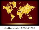 gold map world polygon pattern  ...