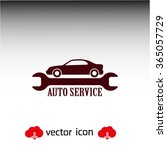 auto service icon. one of set... | Shutterstock .eps vector #365057729