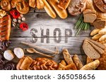 breads  pastries  christmas...   Shutterstock . vector #365058656