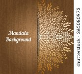 Mandala Background. Bohemian...