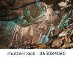 abstract texture of the... | Shutterstock . vector #365084060