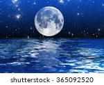 backgrounds night sky with... | Shutterstock . vector #365092520