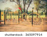 stylish children kid playground ... | Shutterstock . vector #365097914