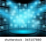 performance stage with...   Shutterstock .eps vector #365107880