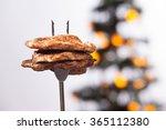 piece of grilled ribeye steak...   Shutterstock . vector #365112380