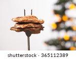 piece of grilled ribeye steak...   Shutterstock . vector #365112389