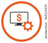 financial monitoring options... | Shutterstock .eps vector #365115479
