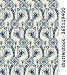 seamless floral classic pattern.... | Shutterstock .eps vector #365119400