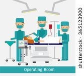 operating room  vector... | Shutterstock .eps vector #365123900