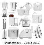 set of kitchen appliances ... | Shutterstock . vector #365158013
