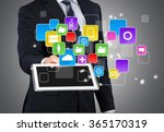 phone. | Shutterstock . vector #365170319