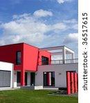 modern bungalow | Shutterstock . vector #36517615