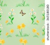 seamless texture spring meadow... | Shutterstock .eps vector #365180180
