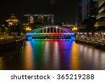 Elgin Bridge At Night With...
