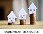mortgage concept by money house ... | Shutterstock . vector #365222318