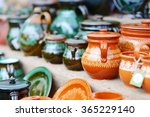ceramic dishes  tableware and... | Shutterstock . vector #365229140