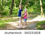 two adorable little sisters... | Shutterstock . vector #365231828