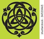 vector illustration of celtic... | Shutterstock .eps vector #36523465