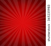sunburst red retro poster with... | Shutterstock .eps vector #365235983