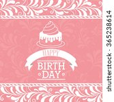 happy birthday design  | Shutterstock .eps vector #365238614