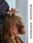 women's hair styling.... | Shutterstock . vector #365245238