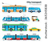 city transport vector flat...