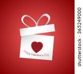 valentine's day concept... | Shutterstock .eps vector #365249000