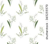 seamless pattern with stylized... | Shutterstock .eps vector #365255570