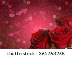 romantic love flowers | Shutterstock . vector #365263268