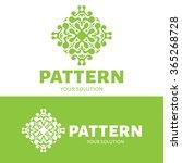 vector pattern logo. a logo...   Shutterstock .eps vector #365268728
