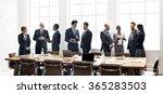 business group meeting... | Shutterstock . vector #365283503