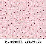 seamless pattern of stylized... | Shutterstock .eps vector #365295788