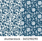 chinese floral pattern | Shutterstock .eps vector #365298290