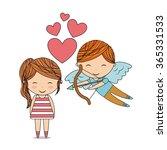 love card design  | Shutterstock .eps vector #365331533