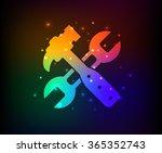 repair design rainbow concept...