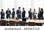 business group meeting... | Shutterstock . vector #365367113