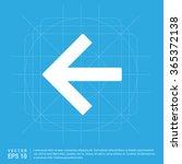 vector back arrow icon. vector...