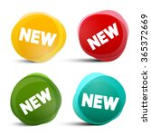 new circle labels   tags  ... | Shutterstock .eps vector #365372669