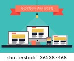 vector illustration. web design