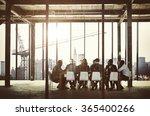 group of multiethnic people... | Shutterstock . vector #365400266