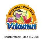 fruit juice vitamin vintage