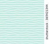 wavy stripes seamless... | Shutterstock .eps vector #365421344